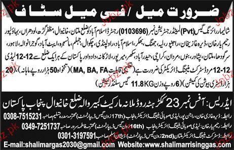 District Managing Directors Job Opportunity