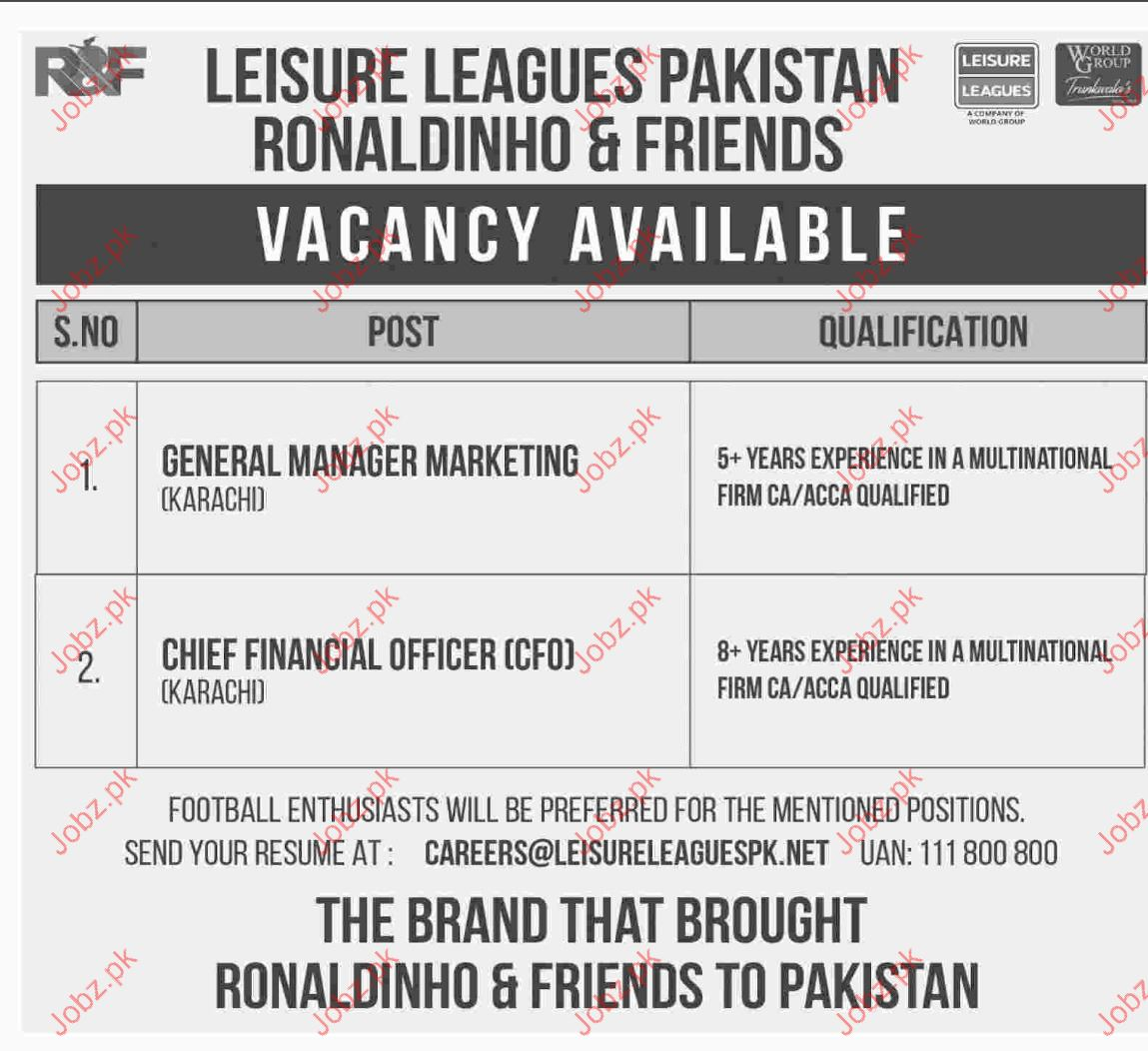 General Manager And Chief Financial Officer Jobs