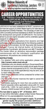 Mehran University of Engineering and Technology JObs