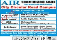 Principal, Teachers, CRO and Coordinators Wanted