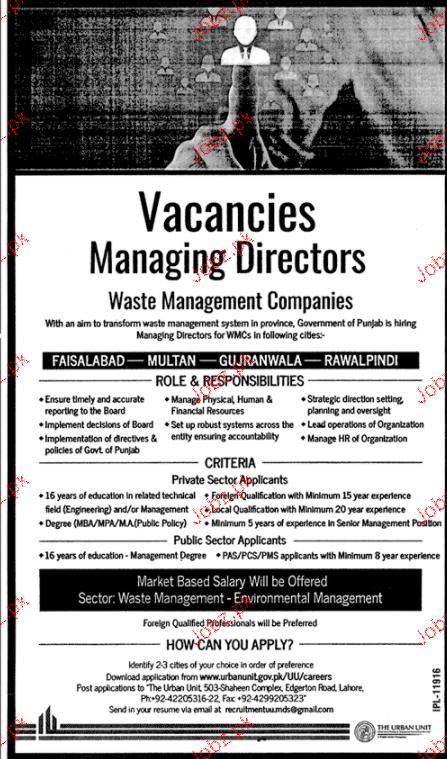 Waste Management Companies Jobs