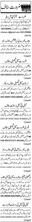 Auto Cad Operator Required For Interior Office