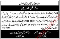 Municipal Committee ALi Pur Required Sanitary Worker