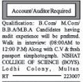 Auditor required for Private Organization