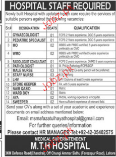 Gynecologists, MO, Peadatric Specialists Wanted