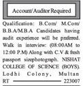 Auditors Required For Private Company