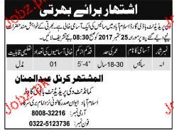 The President Bodyguards Islamabad Jobs