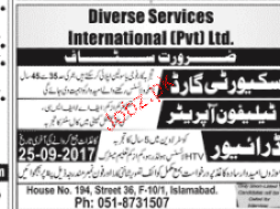 Telephone Operators, Security Guards Job Opportunity