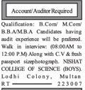 Accountants Job Opportunity