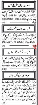 Marketing Staff Wanted For Multan