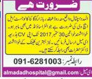 Gynecologists and Lady Health Visitors Job Opportunity