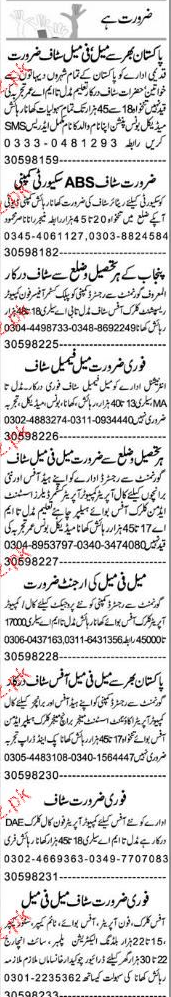 Phone Operators, Clerks, Receptionists Job Opportunity