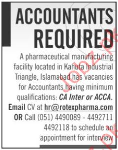 Accountants Job Opportunity 2017