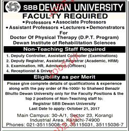 Professors, Associate Professors, Assistant Professor Wanted