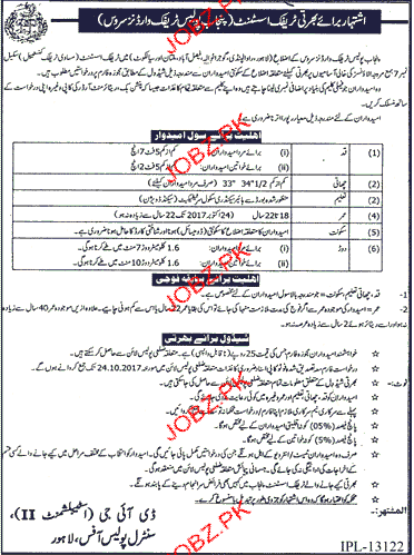 Punjab Traffic Police Jobs
