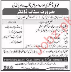 AFIC Required Doctor In Rawalpindi