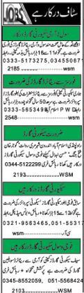 Security Staff Wanted For Islamabad, Pakistan