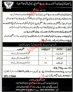 Pakistan Kidney and Liver Institute and Research Center Jobs