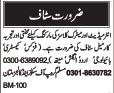 Teaching Staff Jobs 2017 Multan