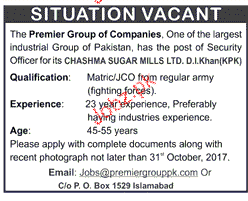 The Premier Group of Companies Jobs