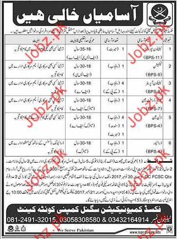 Fixed Communication Signal Company Jobs Opportunity