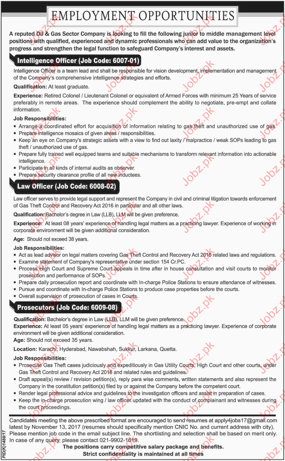 Intelligence Officer Job Description Example Email Signup Template