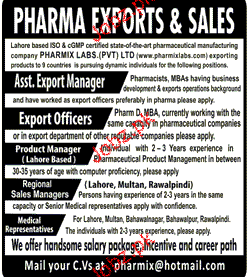Assistant Export Manager, Export Officers Job Opportunity