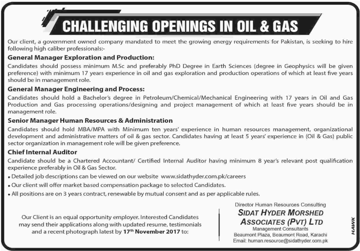 Sidat Hyder Morshed Associates Pvt Ltd Jobs