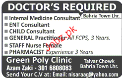Internal Medicine Consultants, ENT Consultants Wanted