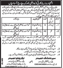 Punjab Highway Mechanical Division Lahore Jobs 2017