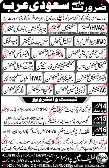 HVAC Engineers, Mechanical Engineers Job Opportunity