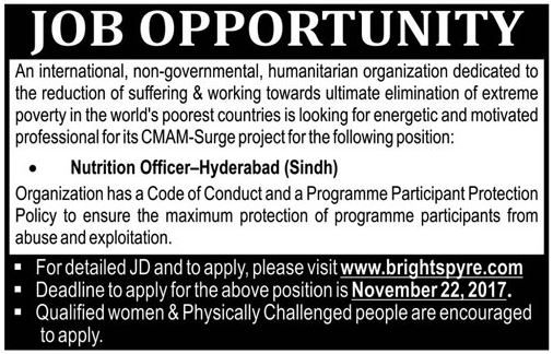 Brightspyre NGO Hyderabad Jobs 2017