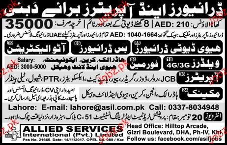Bus Drivers, Heavy Duty Drivers Job Opportunity