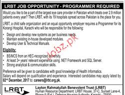 Layton Rahmatulla Benevolent Trust LRBT Jobs