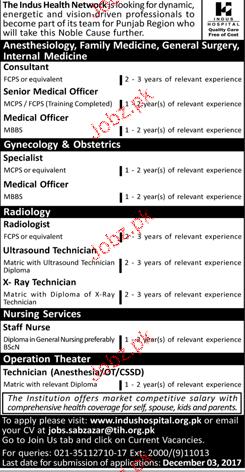 The Indus Hospital Jobs