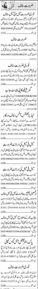 Office Staff Jobs in Islamabad 2017