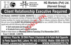 Client Relationship Executives Job Opportunity