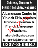 Language Teachers Job Opportunity