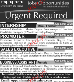 Promoters, Sales Executives Job Opportunity