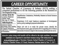 KPCCI Chamber of Commerce Advisor Jobs 2017