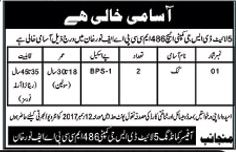 Cook Required For 5 Lite DSG Company In Chaklala, Rwp