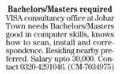 Bachelors/Masters Required In Lahore, Punjab