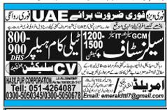Telecom Helper & Sales Staff Jobs Opportunity 2019 Job