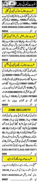 Security Job Opportunities 2017