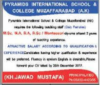 Teaching Job Opportunity In Muzaffarabad AJK