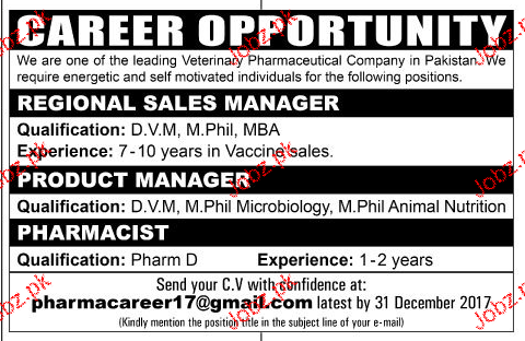 Regional Sales Managers, Product Manager Job Opportunity