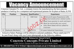 Concrete Concepts Pvt Limited Jobs