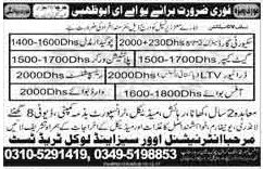 Receptionist & Driver Jobs in UAE