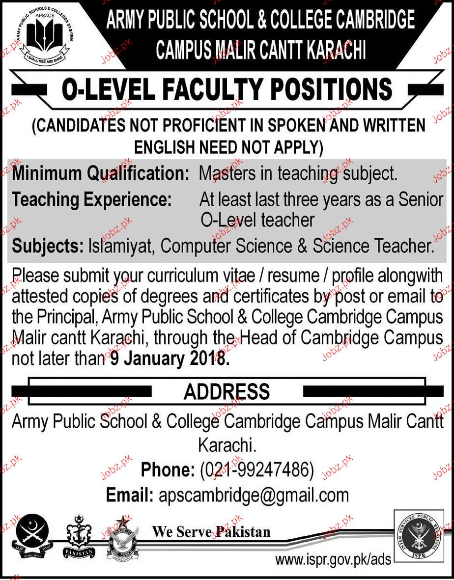 Try These Government School Teaching Jobs In Karachi 2018