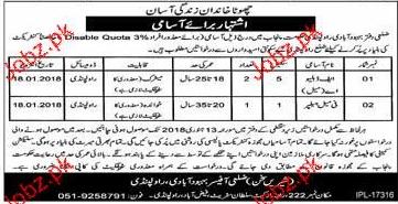 Population Welfare Department Rawalpindi Jobs